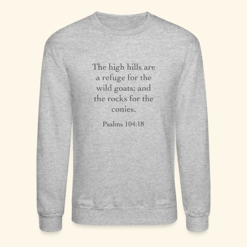 High Hills KJV - Crewneck Sweatshirt