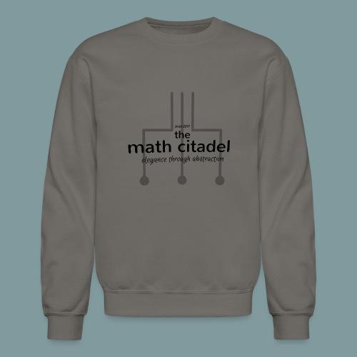 Abstract Math Citadel - Unisex Crewneck Sweatshirt
