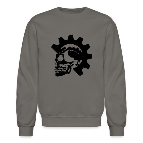 Gearhead Skull - Unisex Crewneck Sweatshirt
