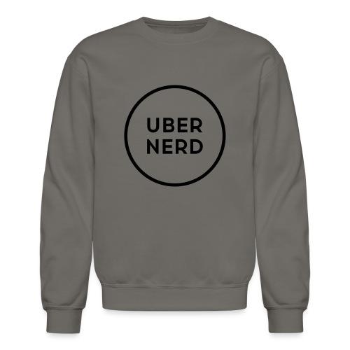 uber nerd logo - Unisex Crewneck Sweatshirt