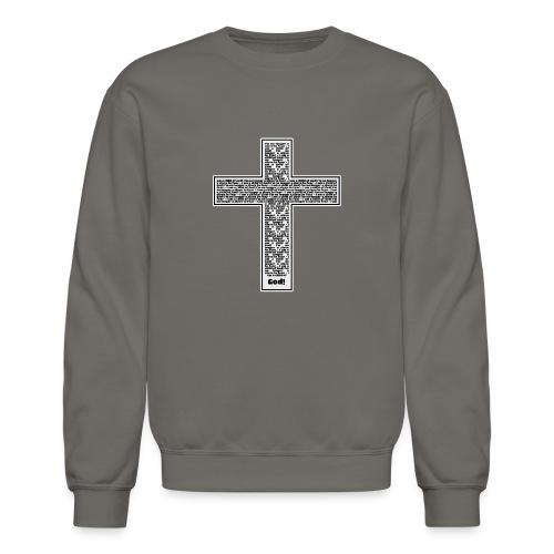 Jesus cross. I'm no longer a slave to fear. - Unisex Crewneck Sweatshirt