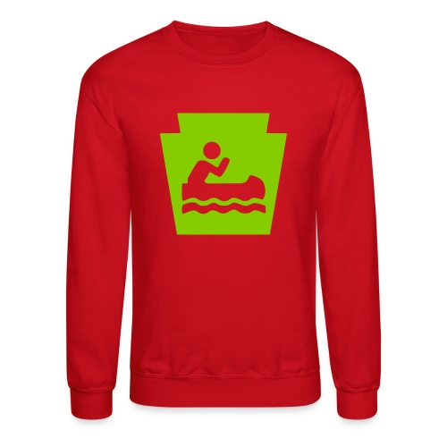 Pennsylvania Keystone Boater PA - Crewneck Sweatshirt