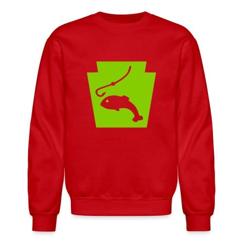 Pennsylvania Fishing Keystone PA - Crewneck Sweatshirt
