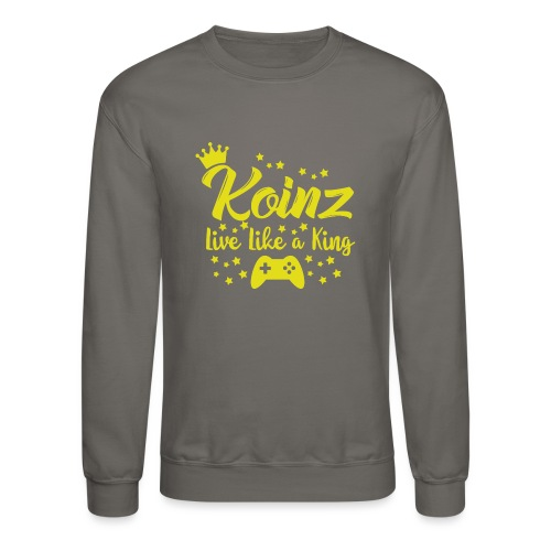 Live Like A King - Crewneck Sweatshirt