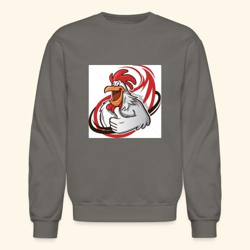 cartoon chicken with a thumbs up 1514989 - Crewneck Sweatshirt