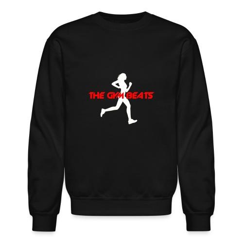 The GYM BEATS - Music for Sports - Unisex Crewneck Sweatshirt