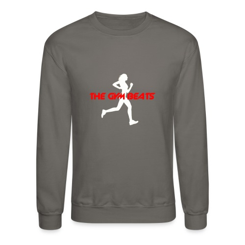 The GYM BEATS - Music for Sports - Unisex Crewneck Sweatshirt
