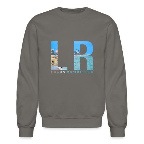 Beach LR Logo - Crewneck Sweatshirt