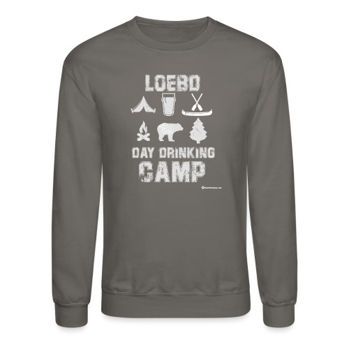 LOEBD Day Drinking Camp - Unisex Crewneck Sweatshirt