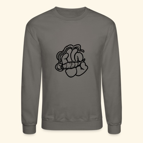 SMOKING HAND - HOODIE / SHIRT - Crewneck Sweatshirt