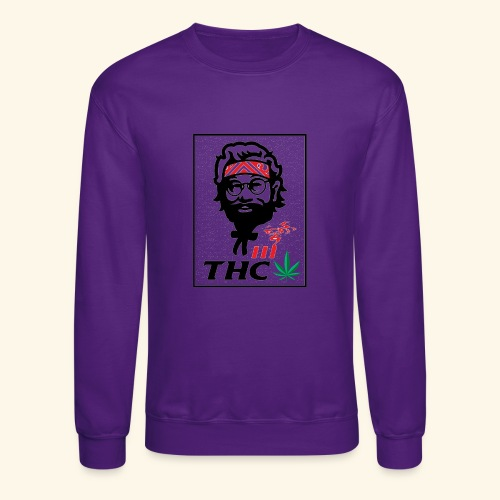 THC MEN - THC SHIRT - FUNNY - Crewneck Sweatshirt