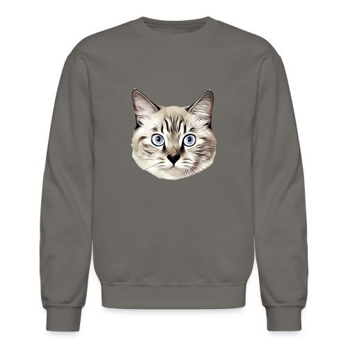 Lucyfur Grey - Crewneck Sweatshirt