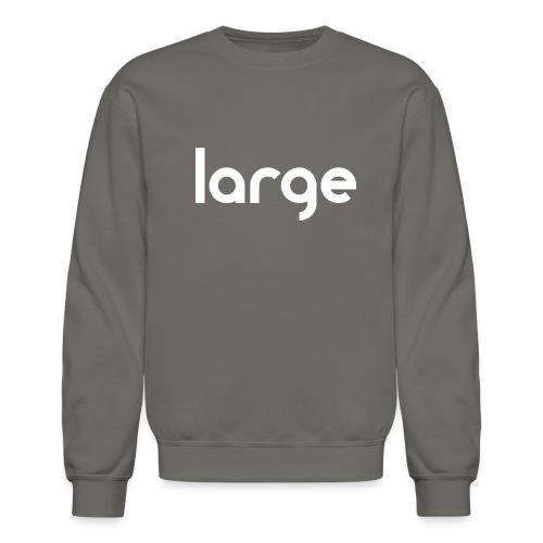 getLarge2011blackWHITE gif - Unisex Crewneck Sweatshirt