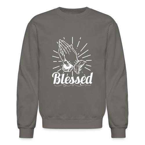 Blessed (White Letters) - Crewneck Sweatshirt