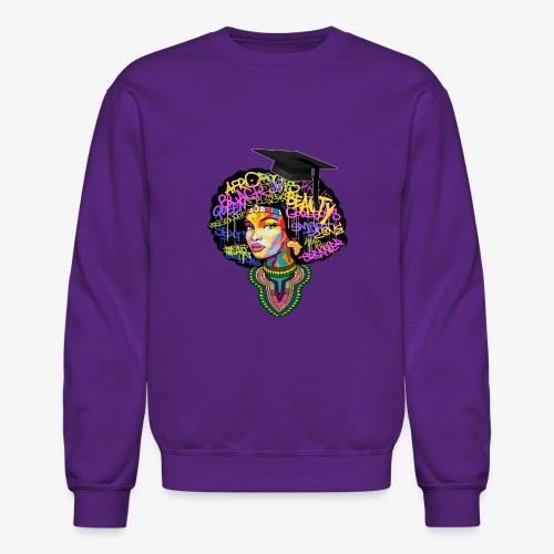 Graduation Melanin Queen Shirt Gift - Crewneck Sweatshirt