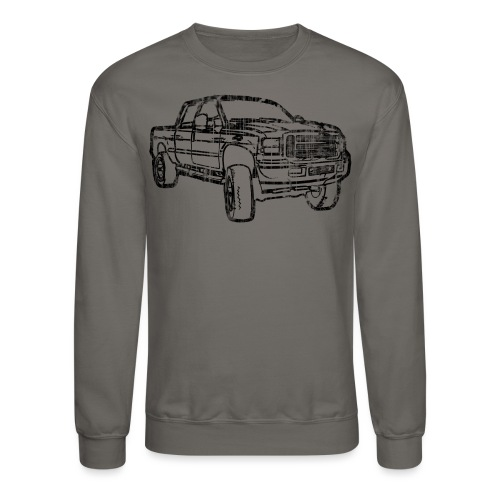 Ford Truck F250 Distressed - Crewneck Sweatshirt