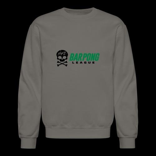 Bar Pong League Wide Logo - Crewneck Sweatshirt
