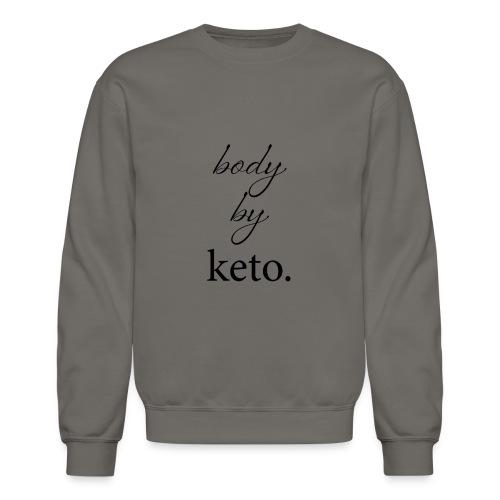 Body By Keto - Crewneck Sweatshirt