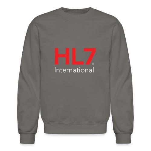 HL7 International Logo - Reverse - Unisex Crewneck Sweatshirt
