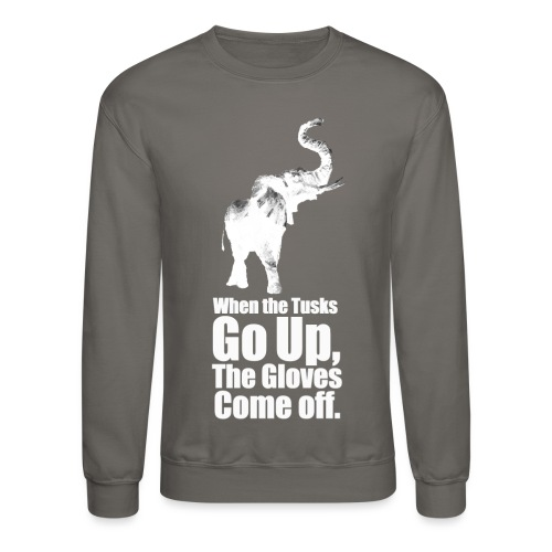 When the trunk goes up th - Crewneck Sweatshirt