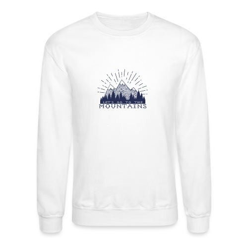 Adventure Mountains T-shirts and Products - Crewneck Sweatshirt