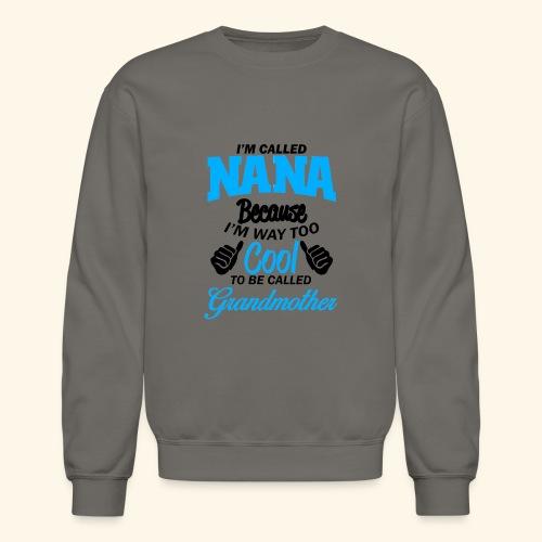 01 Black im called nana - Crewneck Sweatshirt