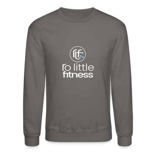 Ro Little Fitness - outline logo - Crewneck Sweatshirt