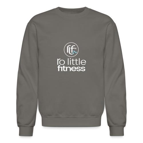 Ro Little Fitness - outline logo - Unisex Crewneck Sweatshirt