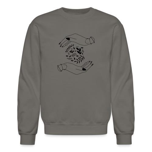 Alternative Living / Van Life / Travel / Hands - Unisex Crewneck Sweatshirt