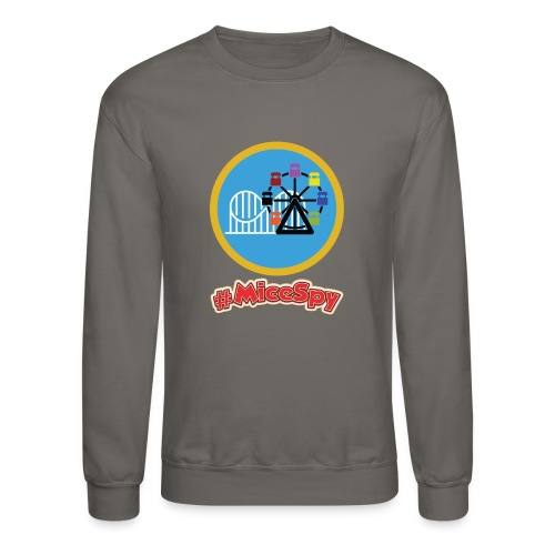 Paradise Pier Explorer Badge - Crewneck Sweatshirt