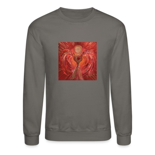 Heartangel of self-worthiness - Crewneck Sweatshirt