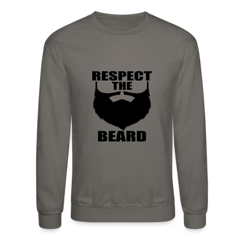 Respect the beard 03 - Unisex Crewneck Sweatshirt