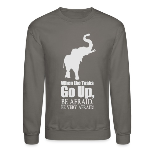 When the trunk goes up Be - Crewneck Sweatshirt