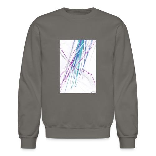 Abstract iPhone 5/5s Hard Case - Unisex Crewneck Sweatshirt