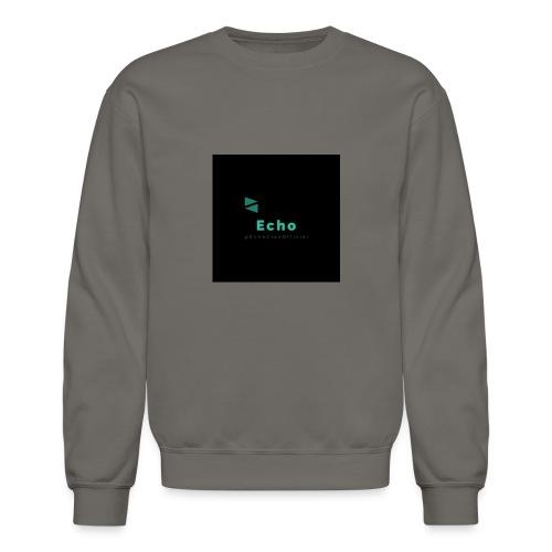 Echo Clan Offical Logo Merch - Crewneck Sweatshirt