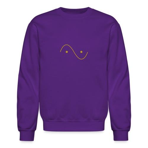 Quantum wave and particle - Crewneck Sweatshirt