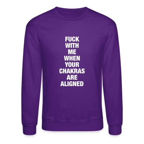 Chakras Aligned - Unisex Crewneck Sweatshirt