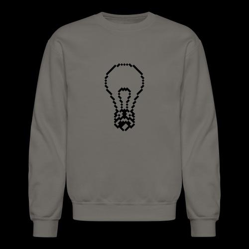 lightbulb by bmx3r - Crewneck Sweatshirt