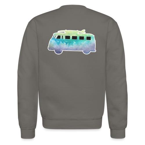 Surfers Kombi Van - Unisex Crewneck Sweatshirt