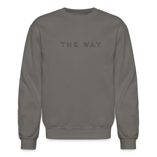 TheWay interieurblanc - Unisex Crewneck Sweatshirt