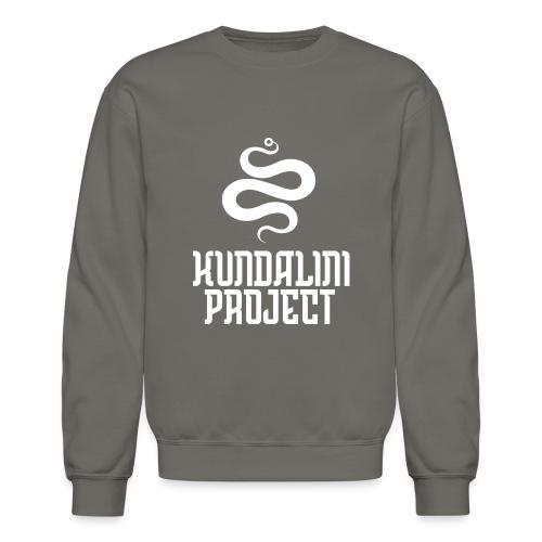 Kundalini white logo - Unisex Crewneck Sweatshirt