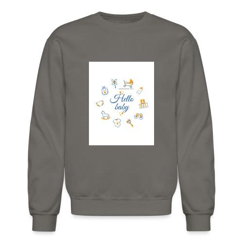 Hello baby - Unisex Crewneck Sweatshirt