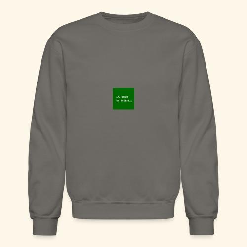 interesse - Crewneck Sweatshirt