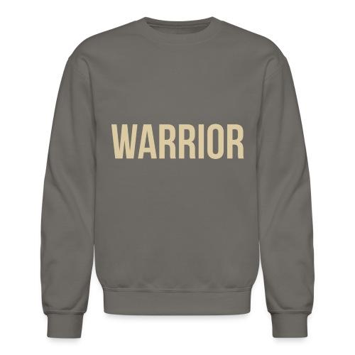 Mens Warrior Sweatshirt - Crewneck Sweatshirt