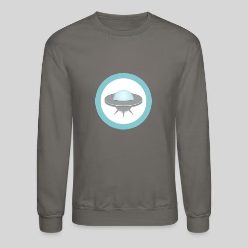 ALIENS WITH WIGS - Small UFO - Crewneck Sweatshirt