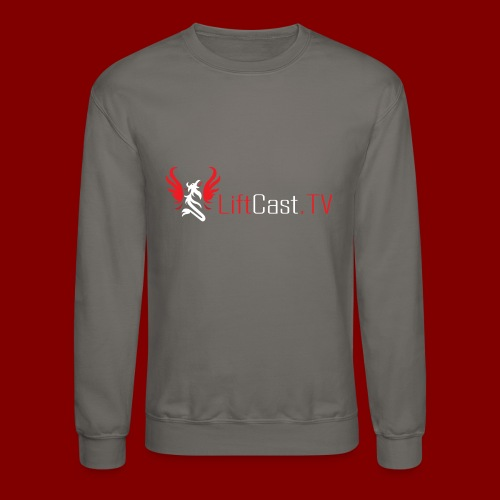 Horizontal for Dark Clothing - Crewneck Sweatshirt