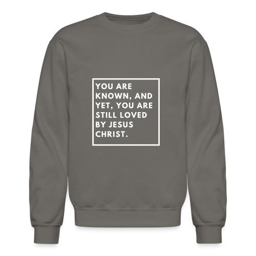 Still loved by Jesus - Crewneck Sweatshirt