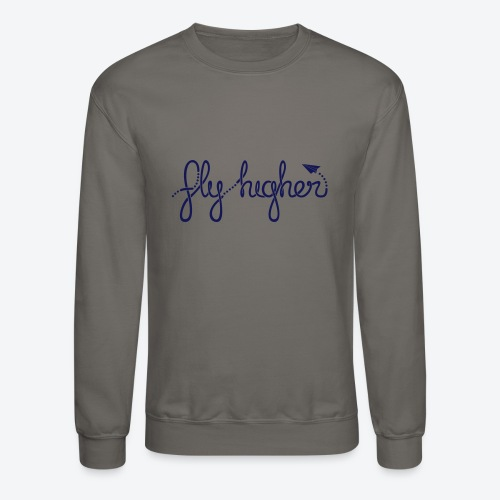 Fly Higher - Navy - Crewneck Sweatshirt