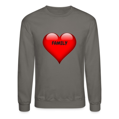 Love Family - Crewneck Sweatshirt