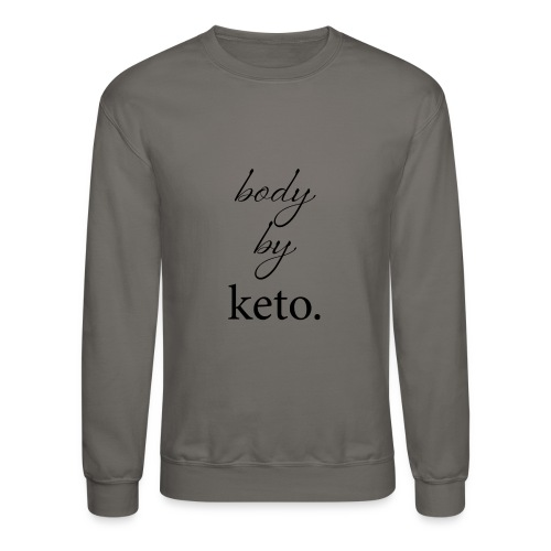 Body By Keto - Crewneck Sweatshirt